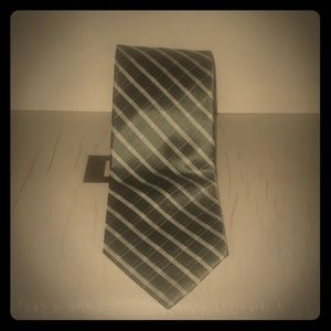 Calvin Klein Mens Silk Work Tie